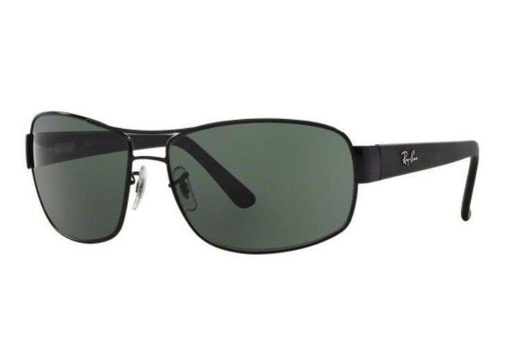 f7130ed7a Oculos Sol Ray Ban Rb3503l 006/71 66mm Preto Lente Verde G15 - R ...