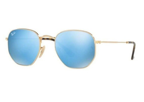 949b225fc Rayban Hexagonal Espelhado - Óculos De Sol no Mercado Livre Brasil