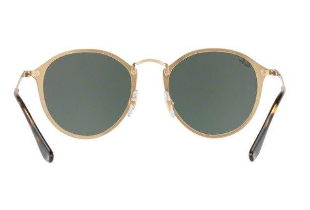 16950b686468a Oculos Sol Ray Ban Rb3574n 001 71 59mm Preto Dourado Let G15 - R ...