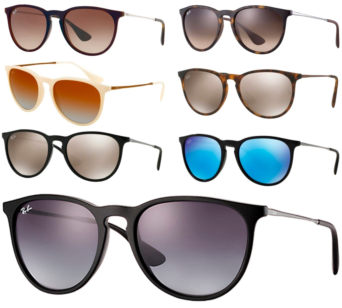 óculos sol ray-ban rb4171 erika original masculino feminino. Carregando  zoom. 14cebb82c1