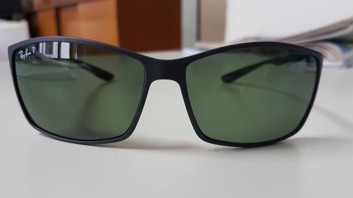 32fcfc80ee oculos sol ray ban rb4179 601s9a preto fosc verde polarizada. Carregando  zoom.