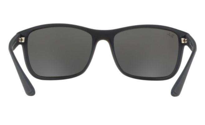 452e2934e13ab Oculos Sol Ray Ban Rb4301 61876g 62mm Cinza Fosco Cinza Espe - R ...