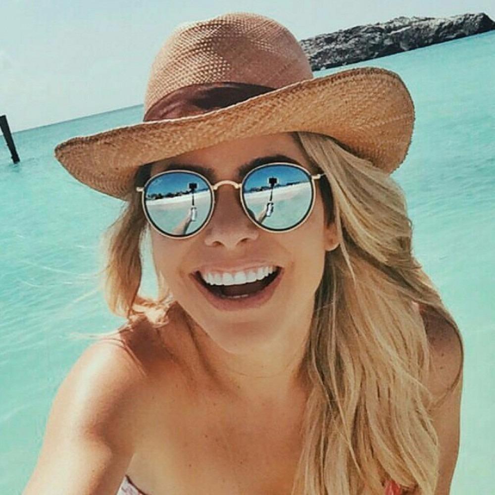 ... feminino redondo ray ban round original · óculos sol ray ban round.  Carregando zoom. f30faaefbe