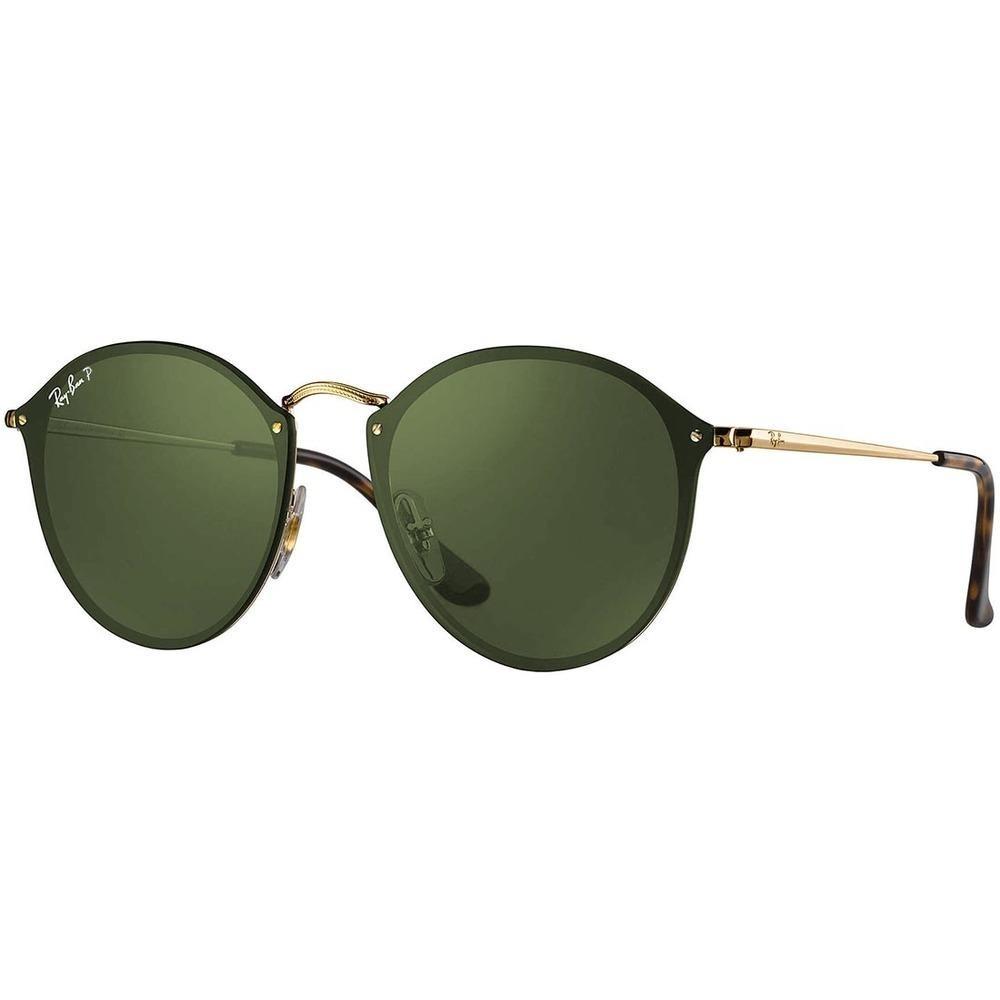 e38d1a6b2 Óculos De Sol Ray-ban Blaze Round Rb3574n 001/9a 59 Orig. P. - R ...