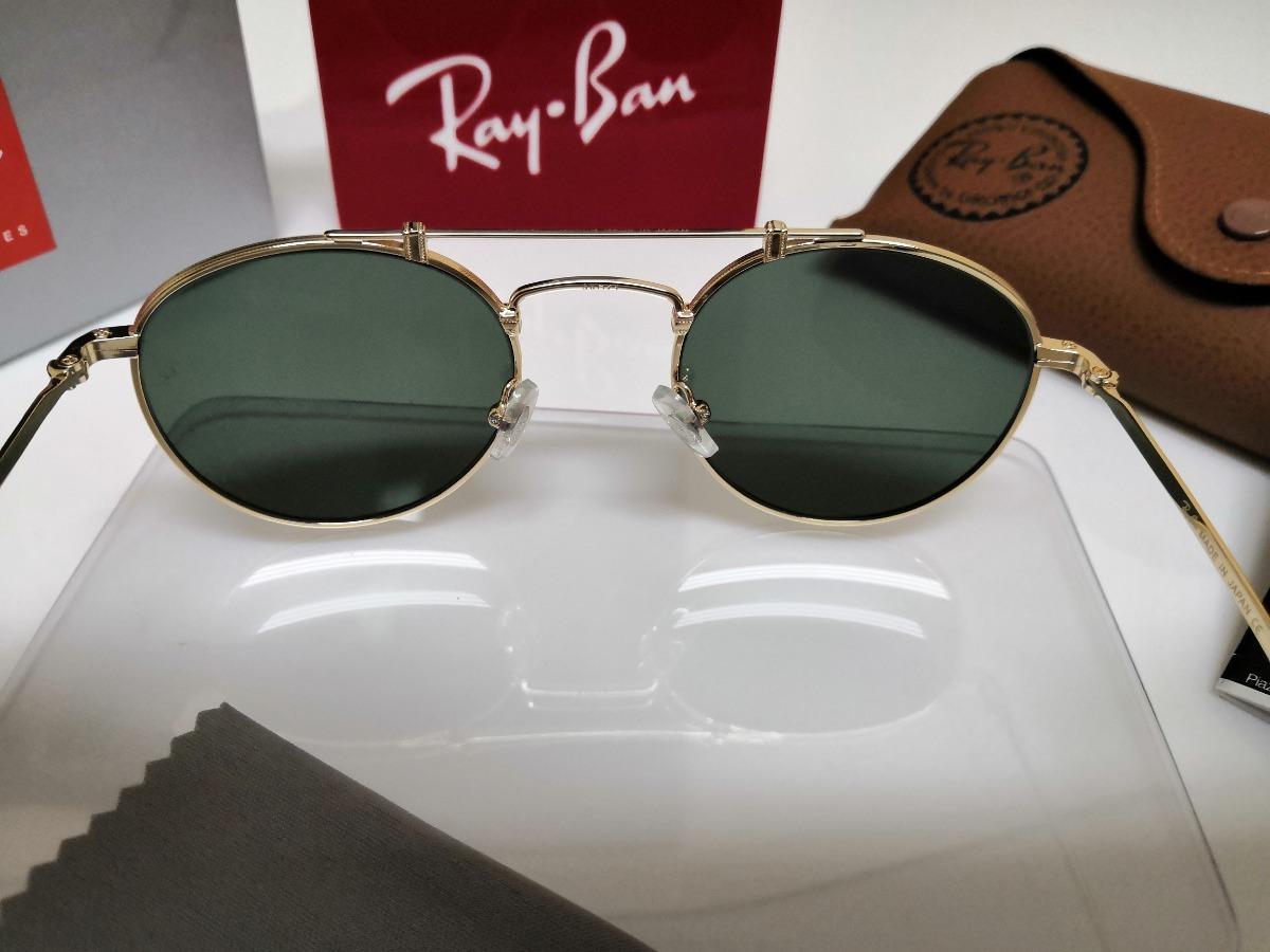 1cec7d1552 ... titanium rb8147 verde 9136 58 japan. Carregando zoom... óculos sol ray  ban round. Carregando zoom.