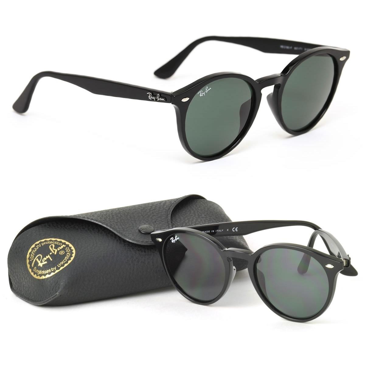 óculos sol ray-ban round acetato original masculino feminino. Carregando  zoom. 0a961434b1