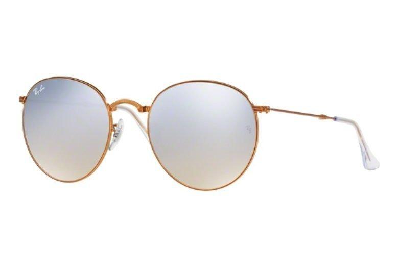 3e30779b8 Oculos Sol Ray Ban Round Dobravel Rb3532 198/9u 53 Bronze - R$ 649 ...