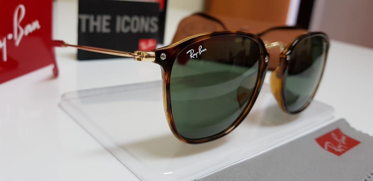51b22c79a0f óculos sol ray-ban scuderia ferrari rb2448 aço dourado e g15. Carregando  zoom.