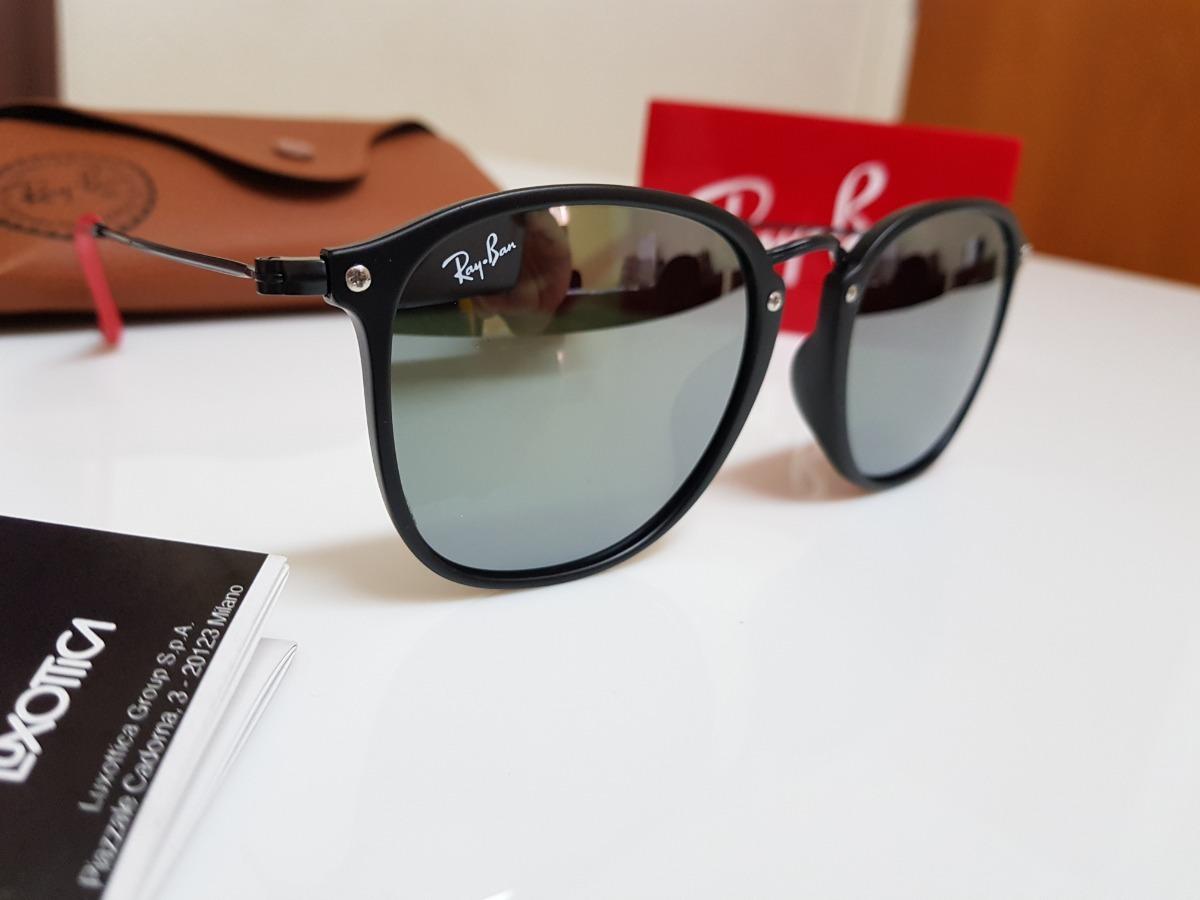 d5e3d61ed85 óculos sol ray-ban scuderia ferrari rb2448 prata espelhado. Carregando zoom.
