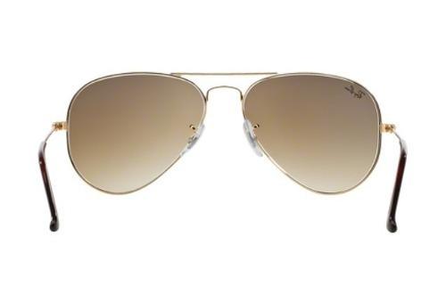 c750380db495f Oculos Sol Ray Ban Top Aviador Rb3025 001 51 58mm Dourado Ma - R  347