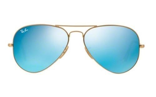 Oculos Sol Ray Ban Top Aviador Rb3025 112 17 58 Azul Espelha - R ... 1676bcc010