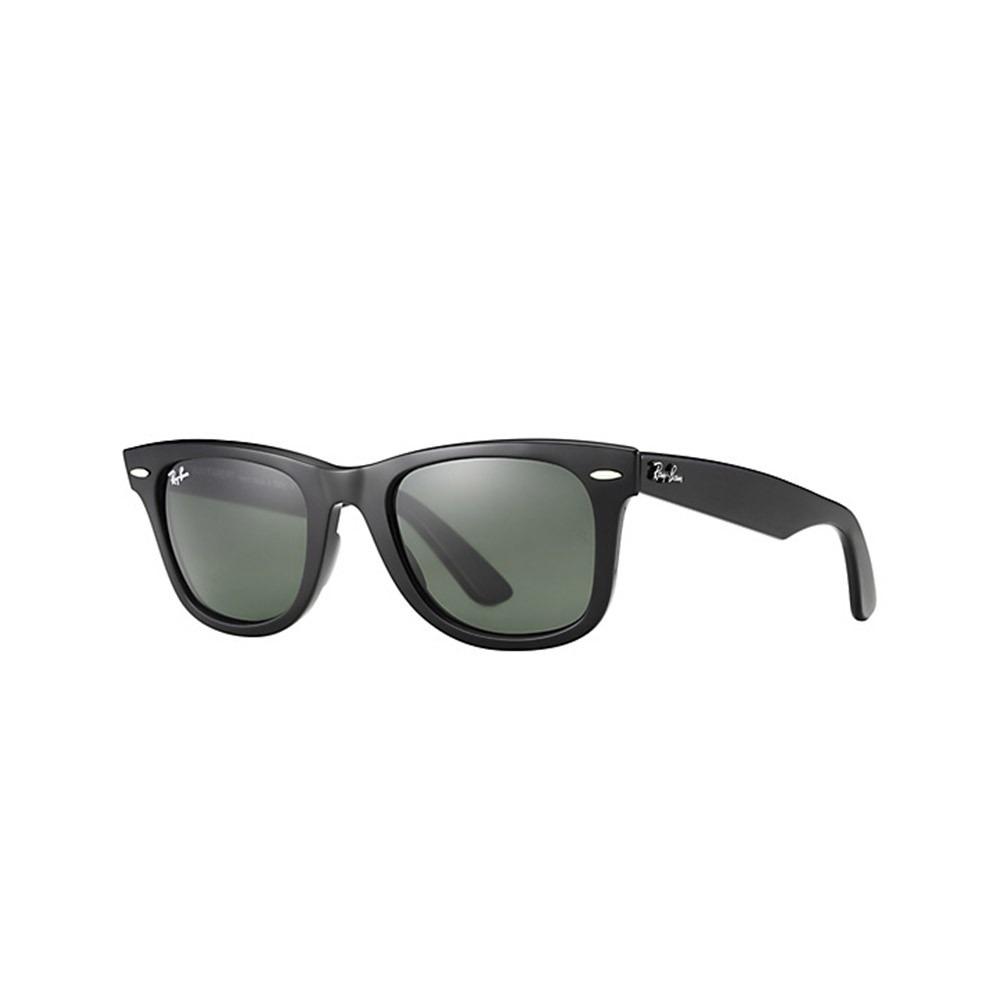 bd4d4b9496380 Óculos De Sol Ray-ban Wayfarer Preto Fosco R 209,00 + Frete - R  209 ...