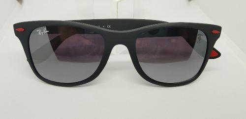 58bbcffff5811 Óculos De Sol Ray Ban Ferrari Wayfarer Rb4195m Liteforce. - R  320,00 em  Mercado Livre