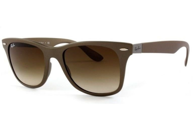 8e8245c13 Oculos Sol Ray Ban Wayfarer Liteforce Rb4195 Lente Marrom - R$ 350 ...