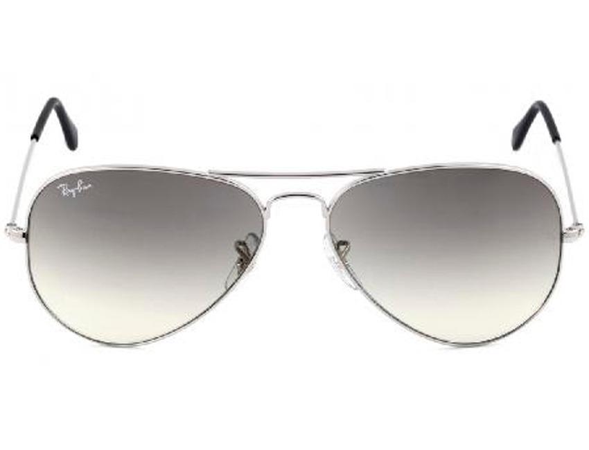 óculos sol rayban aviador rb3025 prata fumê degrade original. Carregando  zoom. f49b3dccb4