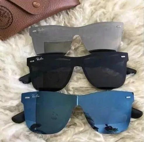 f69fadcfc51b5 Oculos Sol Rayban Blaze Justin Várias Cores   Envio 24 Hs - R  46,80 ...