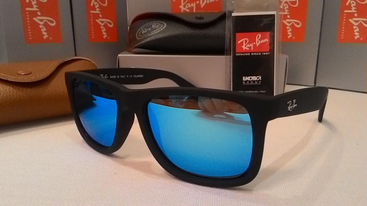 779f060db6207 ... cheapest óculos sol rayban justin 4165 polarizado espelhado masculino. carregando  zoom. 82218 3af1b