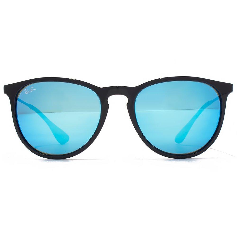 698c8b1e6 óculos sol rayban rb4171 erika preto azul espelhado original. Carregando  zoom.