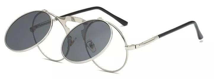 6d30bb389 Oculos Sol Redondo Circular Vintage Lente-dupla High Quality - R$ 89 ...