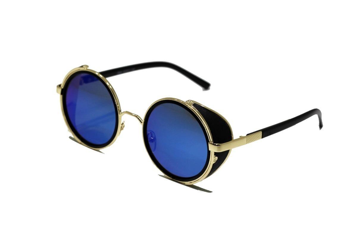 óculos sol redondo circular vintage retrô masculino feminino. Carregando  zoom. 0ce3b69d33