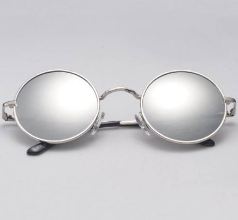 38fdc3ee179f0 Óculos Sol Redondo Espelhado John Lennon Ozzy Retrô Vintage - R  28 ...