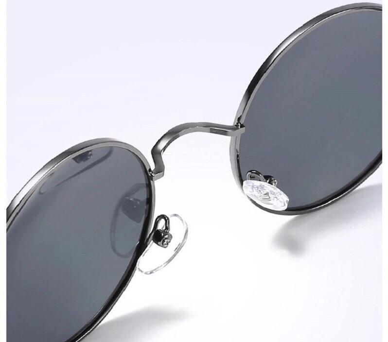 ff80ae565c490 Óculos Sol Redondo Masculino Unisex Polarizado Proteção Uv - R  65 ...