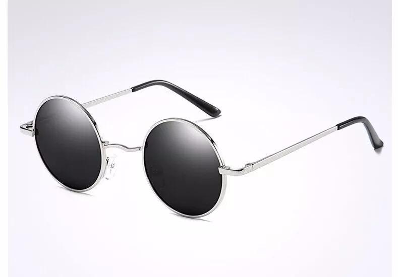 b7811a6cb6f22 Óculos Sol Redondo Masculino Unisex Polarizado Proteção Uv - R  69 ...