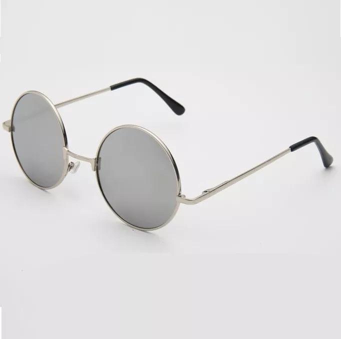 Óculos Sol Redondo Prata Ozzy John Lennon Masculino Feminino - R  34 ... 8306f3962c