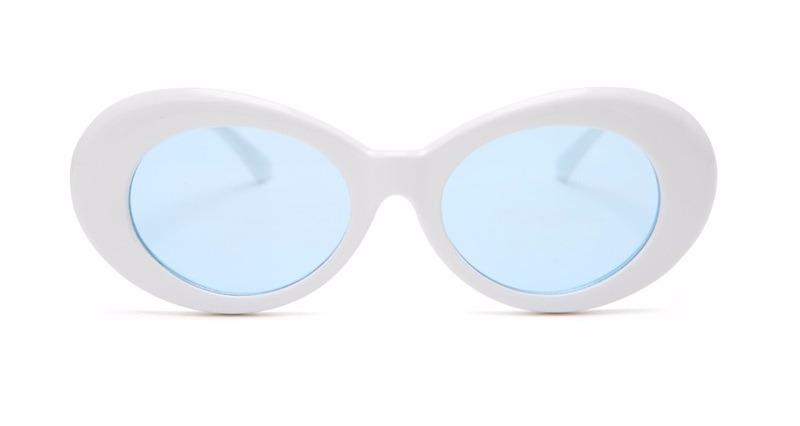 86d09b266 oculos sol retro oval kurt cobain cores nirvana lentes uv400. Carregando  zoom.