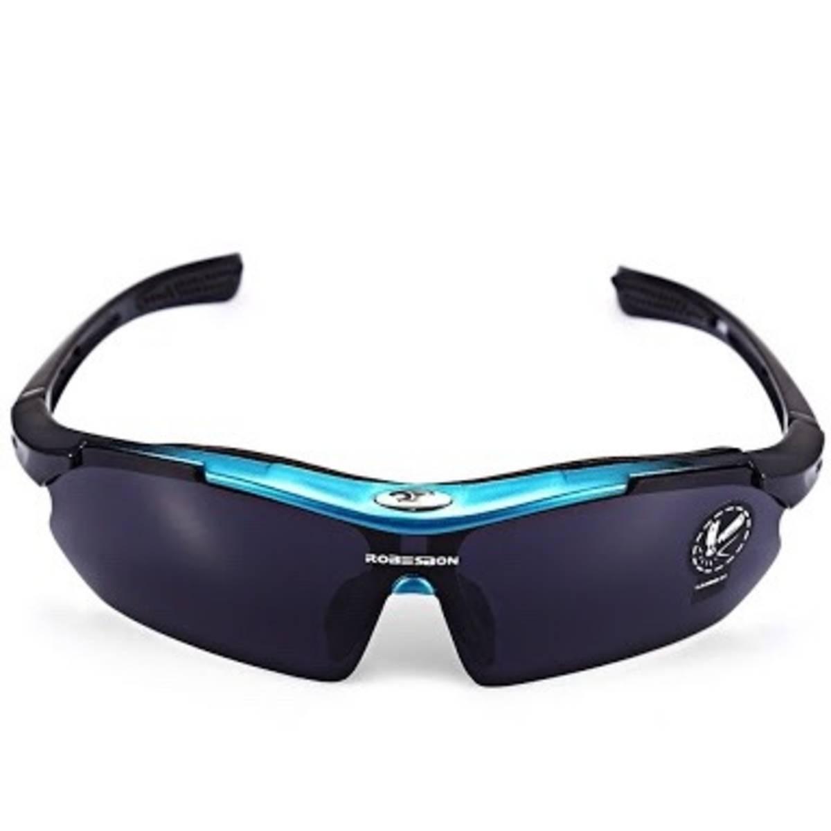 c6b4f91e64c88 Óculos Sol Robesbon Ciclista Pesca Ciclismo Moto Uv400 - R  22,90 em ...