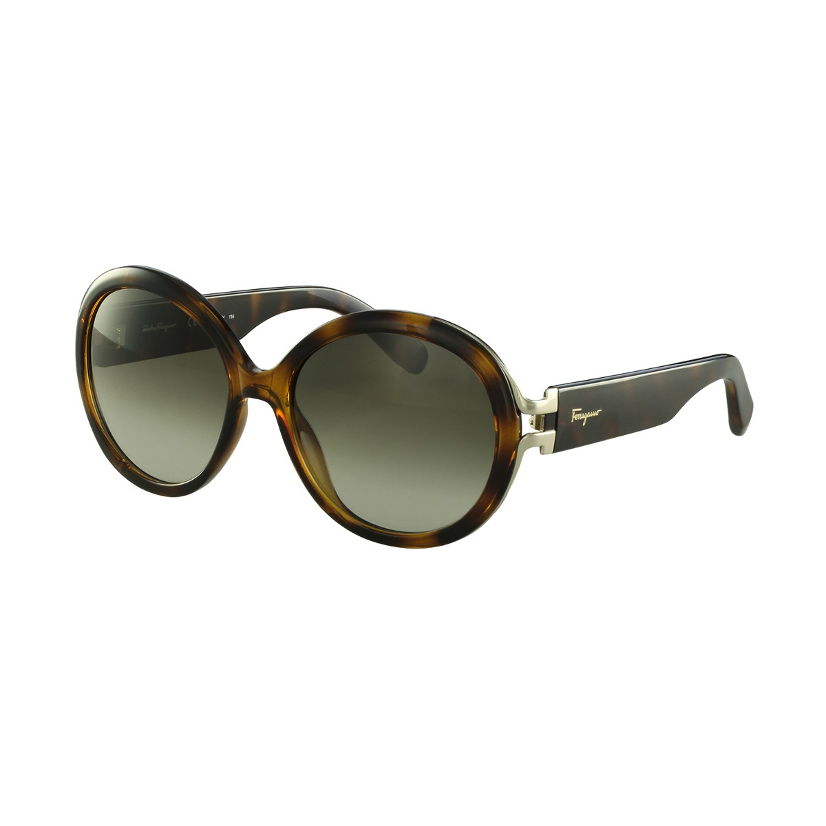 bcc407c527f42 Óculos De Sol Salvatore Ferragamo Fashion Marrom - R  1.380,00 em ...