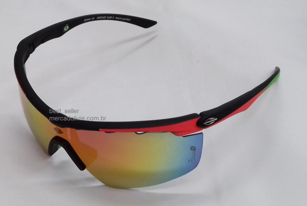 0d02b2dd0 Óculos Sol Solar Mormaii Athlon 4 Preto Ciclismo Iv 3 Iii Ve - R$ 299,00 em  Mercado Livre