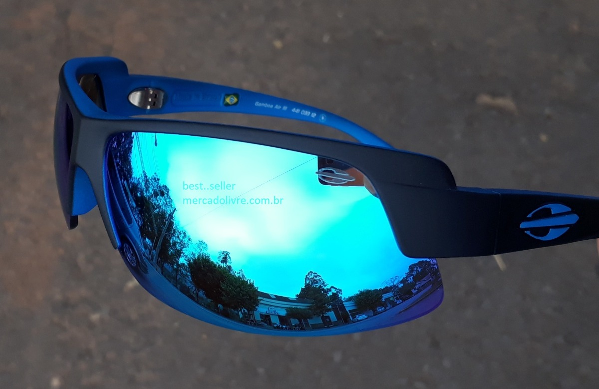 993131656 óculos sol solar mormaii gamboa air 3 azul espelhado air iii. Carregando  zoom.