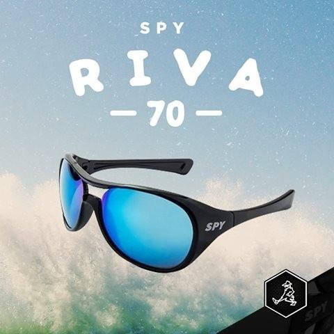 26a3f9088a629 Óculos De Sol Spy Original - Riva 70 - Lente Azul Espelhada - R  219 ...