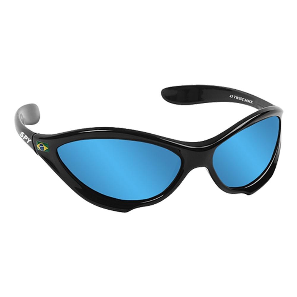 7c943b12df5b8 oculos sol spy espelhado original twist 45 preto brilhante. Carregando zoom.