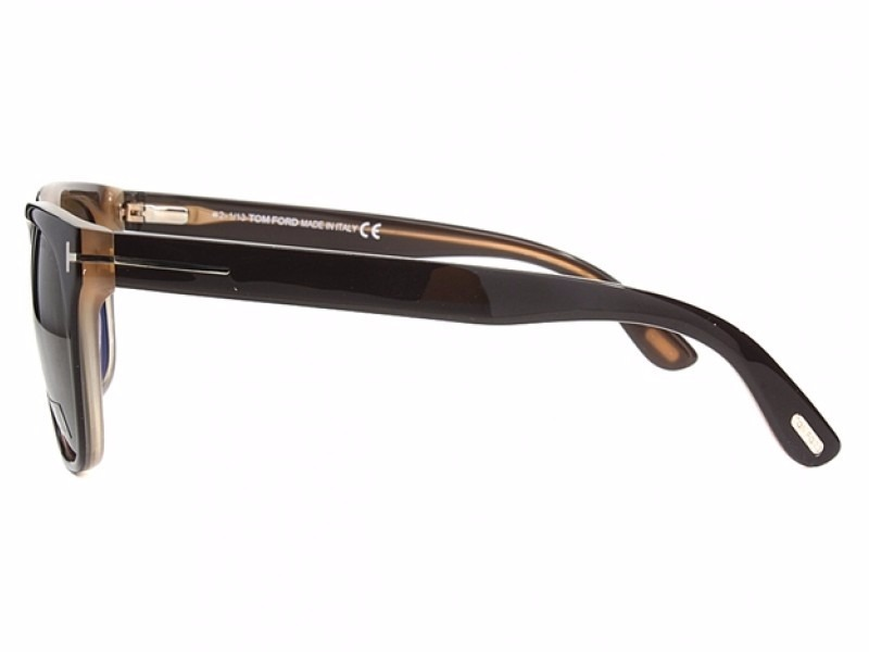 431716645dab6 ... rock tf 290 50j marrom e creme. Carregando zoom... óculos sol tom ford.  Carregando zoom.