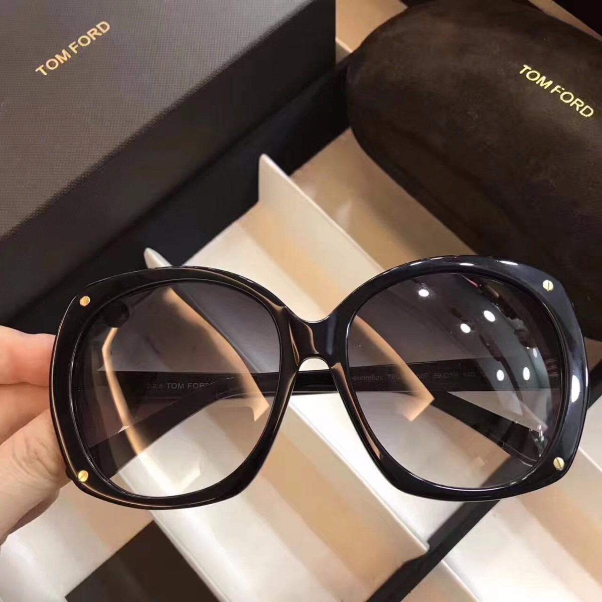 Óculos Sol Tom Ford Geométrica Feminino Frete Grátis - R  399,00 em ... 21c551f424