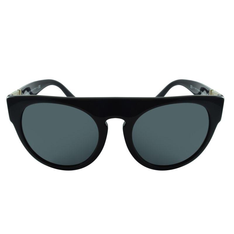 f5e1cedb1f000 Óculos De Sol Versace Ve4333 Gb1 87 55x21 145 Rock Greca - R  593