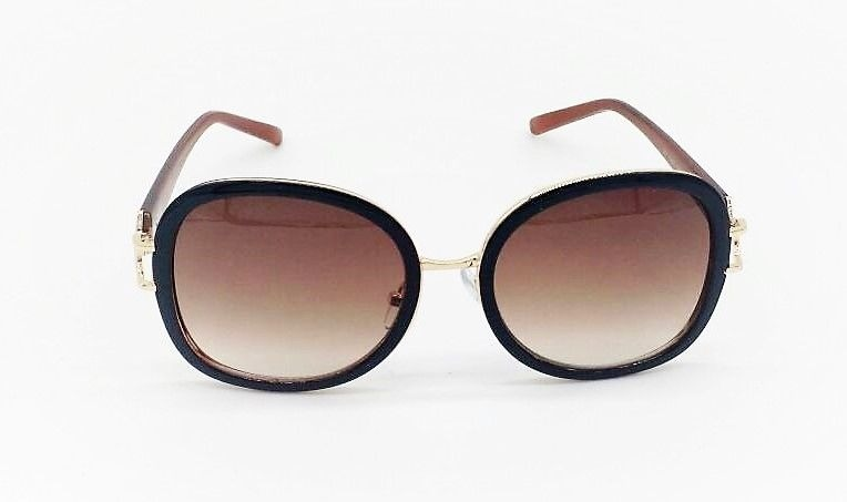 Óculos Sol Vezatto Feminino Dourado Marrom Degrade Wp3956 - R  120,00 em  Mercado Livre f8a5d3dc19