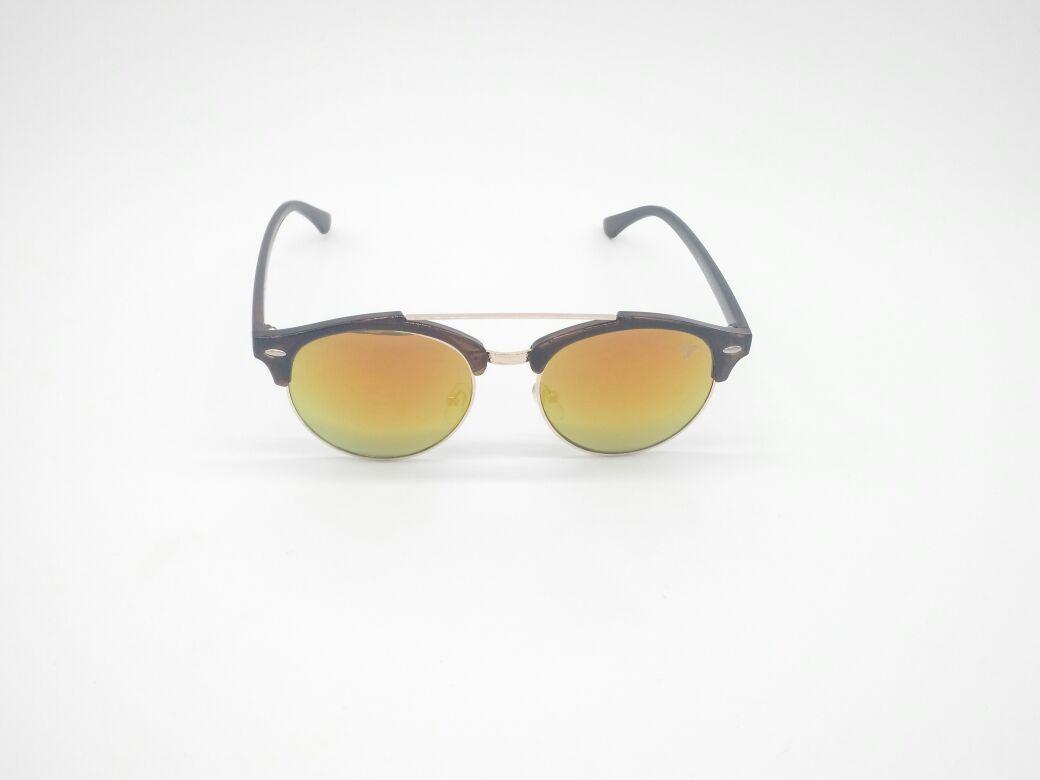fcdc5edb25e6a óculos sol vezatto marrom aviador espelhado metal yd1702 c5. Carregando  zoom.