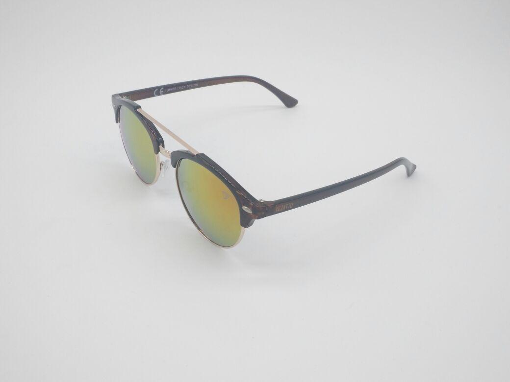 ce76c3e9eb31d óculos sol vezatto marrom aviador espelhado yd1702 c5. Carregando zoom.