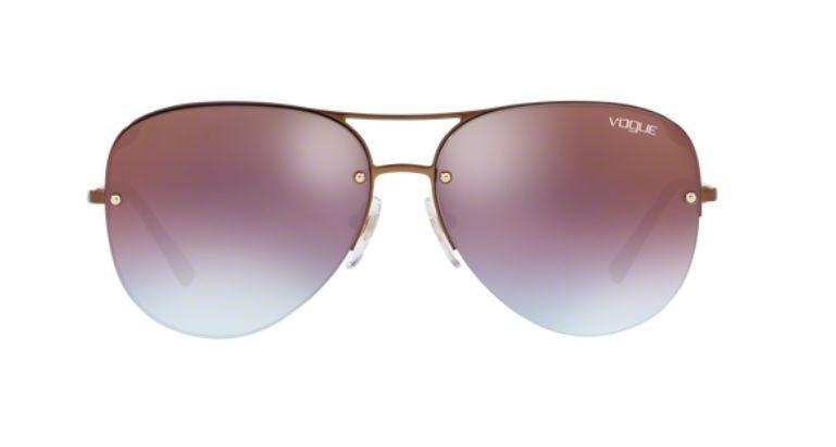 79694b3c86388 Oculos Sol Vogue Vo4080s 5074h7 58mm Bronze Lente Azul Rosa - R  369 ...