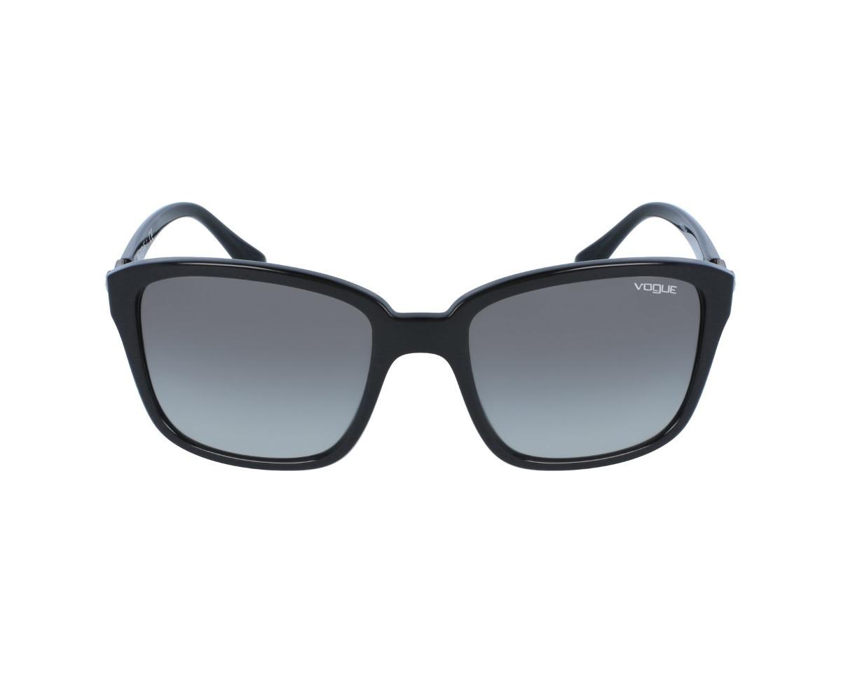 484cb51ec Óculos De Sol Feminino Preto - Vogue Vo 5093 Sb - Original - R$ 419 ...