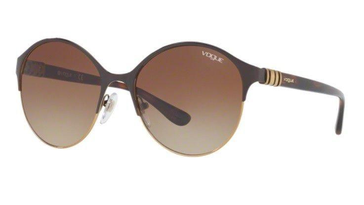Oculos Sol Vogue Vo4049s 997 13 Marrom Lente Marrom Degradê - R  349 ... d4e4bf799e