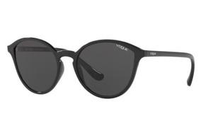 fac974f58 Oculos Sol Vogue Vo5255s W44/87 55 Preto Brilho Lente Cinza