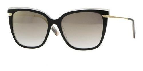 óculos solar ana hickmann ah9282 h01 lente 57mm usado 1seman