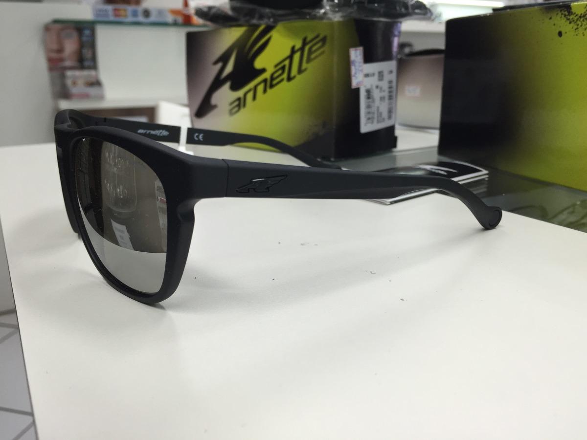 27268ff34fb5f Oculos Solar Arnette Groove 4203-01 6g 55 Original P. Entreg - R ...