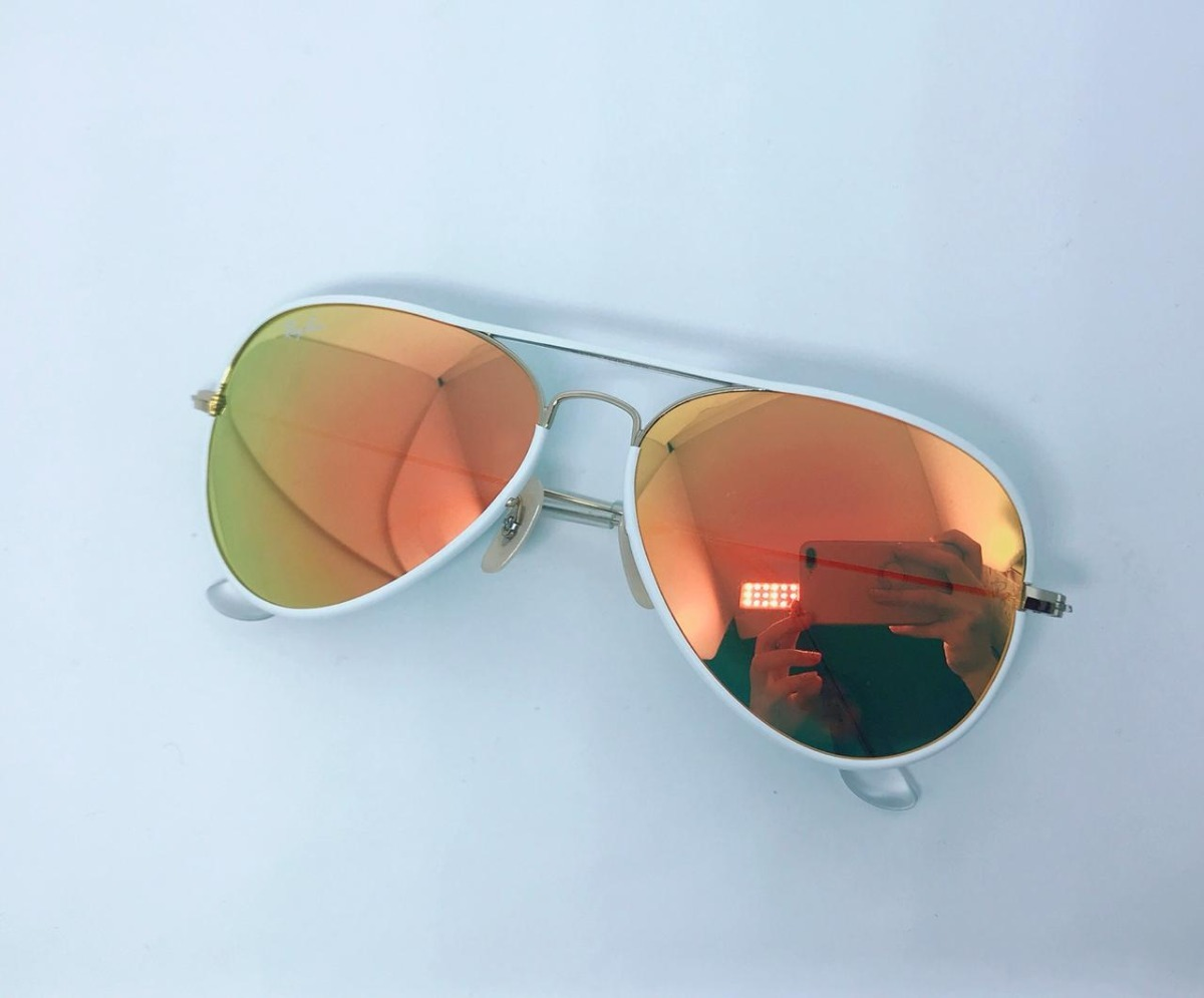 cd46f960a18d3 Óculos Solar Aviador Lente Cristal - R  60,00 em Mercado Livre