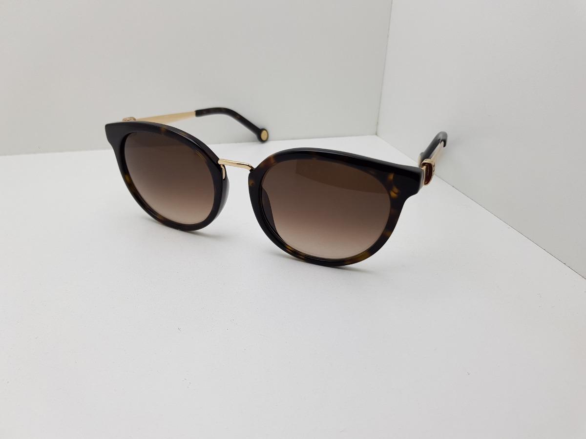 860b04bc93 Óculos Solar Carolina Herrera She754 - 0722 - R$ 820,00 em Mercado Livre