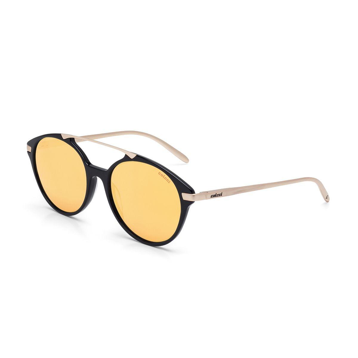 0573bd618 Óculos Solar Colcci C0069a3416 Preto Com Dourado Novidade - R$ 389 ...